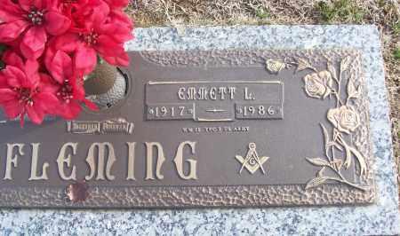 FLEMING (VETERAN WWII), EMMETT L - White County, Arkansas | EMMETT L FLEMING (VETERAN WWII) - Arkansas Gravestone Photos
