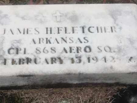 FLETCHER  (VETERAN), JAMES H - White County, Arkansas   JAMES H FLETCHER  (VETERAN) - Arkansas Gravestone Photos