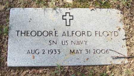 FLOYD (VETERAN), THEODORE ALFORD - White County, Arkansas   THEODORE ALFORD FLOYD (VETERAN) - Arkansas Gravestone Photos