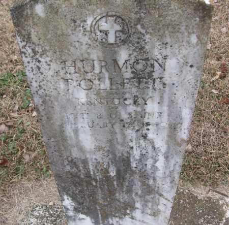 POLLETT (VETERAN), HURMON - White County, Arkansas   HURMON POLLETT (VETERAN) - Arkansas Gravestone Photos