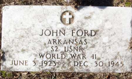 FORD (VETERAN WWII), JOHN - White County, Arkansas   JOHN FORD (VETERAN WWII) - Arkansas Gravestone Photos