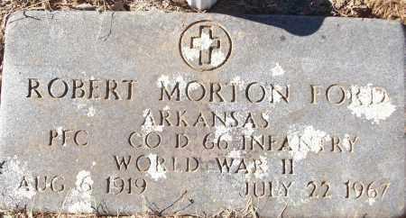 FORD (VETERAN WWII), ROBERT MORTON - White County, Arkansas | ROBERT MORTON FORD (VETERAN WWII) - Arkansas Gravestone Photos