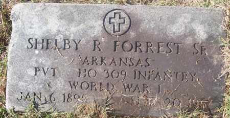 FORREST,  SR  (VETERAN WWI), SHELBY R - White County, Arkansas | SHELBY R FORREST,  SR  (VETERAN WWI) - Arkansas Gravestone Photos