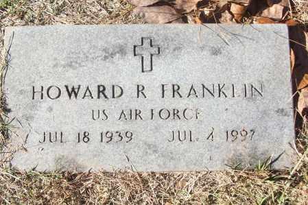 FRANKLIN (VETERAN), HOWARD R - White County, Arkansas | HOWARD R FRANKLIN (VETERAN) - Arkansas Gravestone Photos