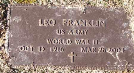 FRANKLIN (WWII), LEO - White County, Arkansas | LEO FRANKLIN (WWII) - Arkansas Gravestone Photos