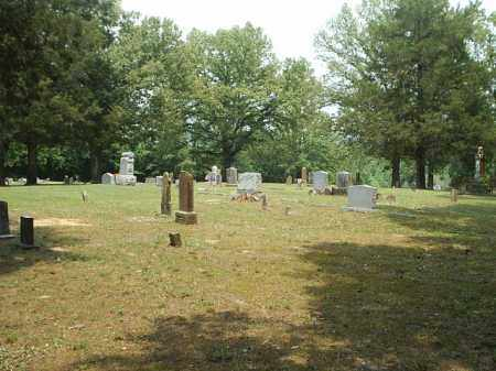 *FREDONIA CEMETERY VIEW,  - White County, Arkansas |  *FREDONIA CEMETERY VIEW - Arkansas Gravestone Photos