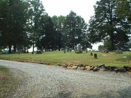 *FREDONIA CEMETERY VIEW,  - White County, Arkansas |  *FREDONIA CEMETERY VIEW - Arkansas Gravestone Photos