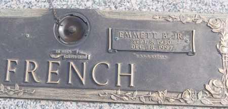 FRENCH, JR (VETERAN KOR), EMMETT B - White County, Arkansas | EMMETT B FRENCH, JR (VETERAN KOR) - Arkansas Gravestone Photos