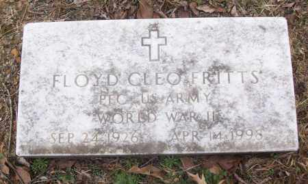 FRITTS (VETERAN WWII), FLOYD CLEO - White County, Arkansas | FLOYD CLEO FRITTS (VETERAN WWII) - Arkansas Gravestone Photos