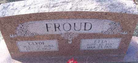 FROUD, ETTA - White County, Arkansas | ETTA FROUD - Arkansas Gravestone Photos