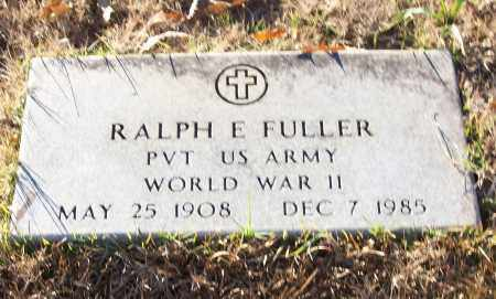 FULLER (VETERAN WWII), RALPH E - White County, Arkansas | RALPH E FULLER (VETERAN WWII) - Arkansas Gravestone Photos