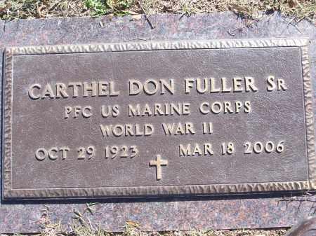 FULLER, SR (VETERAN WWII), CARTHEL DON - White County, Arkansas | CARTHEL DON FULLER, SR (VETERAN WWII) - Arkansas Gravestone Photos