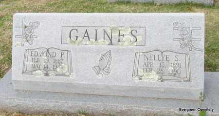 GAINES, NELLYE S - White County, Arkansas | NELLYE S GAINES - Arkansas Gravestone Photos