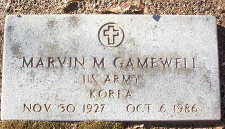 GAMEWELL (VETERAN KOR), MARVIN M - White County, Arkansas | MARVIN M GAMEWELL (VETERAN KOR) - Arkansas Gravestone Photos