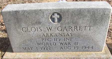 GARRETT (VETERAN WWII), CLOIS W - White County, Arkansas | CLOIS W GARRETT (VETERAN WWII) - Arkansas Gravestone Photos