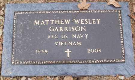 GARRISON (VETERAN VIET), MATTHEW WESLEY - White County, Arkansas | MATTHEW WESLEY GARRISON (VETERAN VIET) - Arkansas Gravestone Photos
