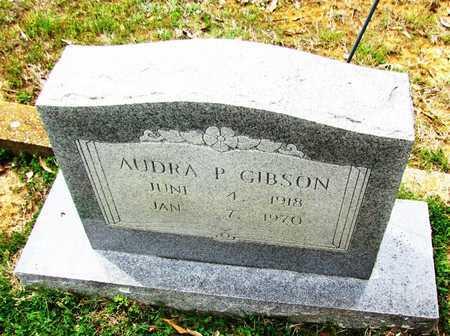 GIBSON, AUDRA P - White County, Arkansas | AUDRA P GIBSON - Arkansas Gravestone Photos