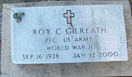 GILREATH (VETERAN WWII), ROY C - White County, Arkansas | ROY C GILREATH (VETERAN WWII) - Arkansas Gravestone Photos
