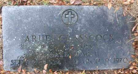 GLASSCOCK (VETERAN WWII), ARUE - White County, Arkansas   ARUE GLASSCOCK (VETERAN WWII) - Arkansas Gravestone Photos