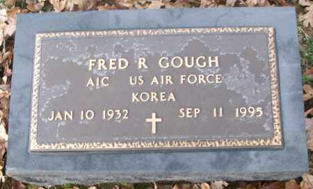 GOUGH  (VETERAN KOR), FRED R. - White County, Arkansas   FRED R. GOUGH  (VETERAN KOR) - Arkansas Gravestone Photos
