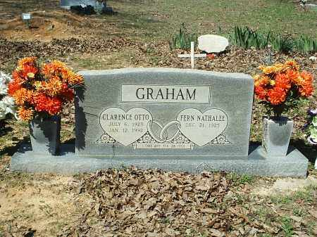 GRAHAM, CLARENCE (OTTO) - White County, Arkansas | CLARENCE (OTTO) GRAHAM - Arkansas Gravestone Photos