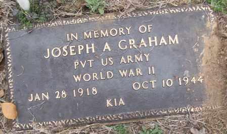 GRAHAM (VETERAN WWII, KIA), JOSEPH A - White County, Arkansas | JOSEPH A GRAHAM (VETERAN WWII, KIA) - Arkansas Gravestone Photos
