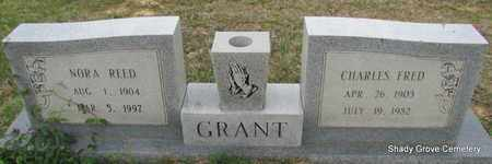REED GRANT, NORA - White County, Arkansas | NORA REED GRANT - Arkansas Gravestone Photos