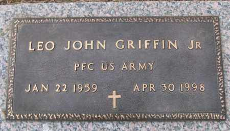 GRIFFIN,  JR (VETERAN), LEO JOHN - White County, Arkansas | LEO JOHN GRIFFIN,  JR (VETERAN) - Arkansas Gravestone Photos