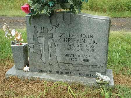 GRIFFIN JR, LEO JOHN - White County, Arkansas | LEO JOHN GRIFFIN JR - Arkansas Gravestone Photos