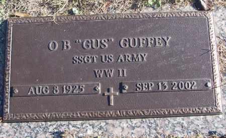 "GUFFEY (VETERAN WWII), O B ""GUS"" - White County, Arkansas   O B ""GUS"" GUFFEY (VETERAN WWII) - Arkansas Gravestone Photos"