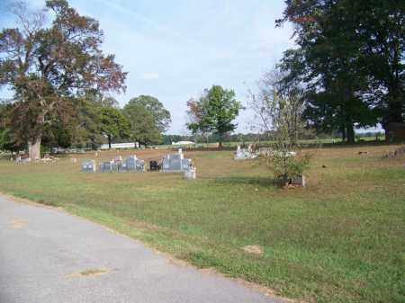GUM SPRINGS CEMETERY OVERVIEW, - White County, Arkansas