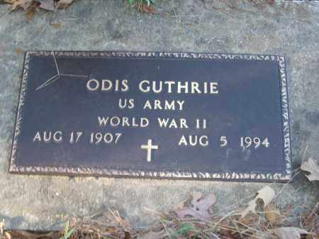 GUTHRIE (VETERAN WWII), ODIS - White County, Arkansas | ODIS GUTHRIE (VETERAN WWII) - Arkansas Gravestone Photos