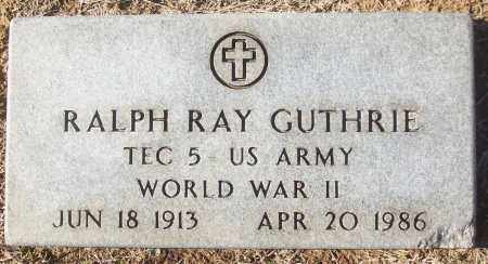 GUTHRIE (VETERAN WWII), RALPH RAY - White County, Arkansas | RALPH RAY GUTHRIE (VETERAN WWII) - Arkansas Gravestone Photos