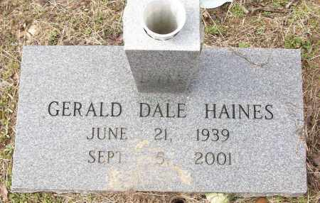 HAINES, GERALD DALE - White County, Arkansas | GERALD DALE HAINES - Arkansas Gravestone Photos