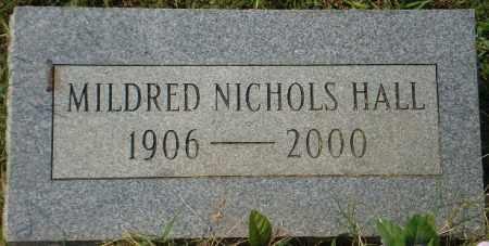NICHOLS HALL, MILDRED - White County, Arkansas | MILDRED NICHOLS HALL - Arkansas Gravestone Photos