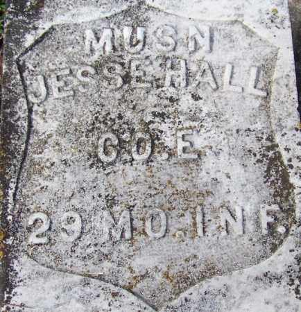HALL (VETERAN UNION), JESSE - White County, Arkansas | JESSE HALL (VETERAN UNION) - Arkansas Gravestone Photos