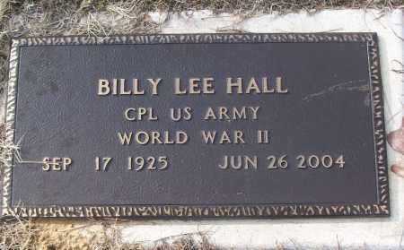 HALL (VETERAN WWII), BILLY LEE - White County, Arkansas | BILLY LEE HALL (VETERAN WWII) - Arkansas Gravestone Photos