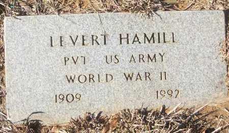 HAMILL (VETERAN WWII), LEVERT - White County, Arkansas   LEVERT HAMILL (VETERAN WWII) - Arkansas Gravestone Photos
