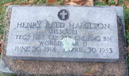 HAMILTON  (VETERAN WWII), HENRY REED - White County, Arkansas   HENRY REED HAMILTON  (VETERAN WWII) - Arkansas Gravestone Photos