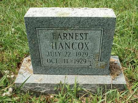 HANCOCK, EARNES - White County, Arkansas | EARNES HANCOCK - Arkansas Gravestone Photos