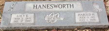 HANESWORTH, HAROLD H. - White County, Arkansas | HAROLD H. HANESWORTH - Arkansas Gravestone Photos