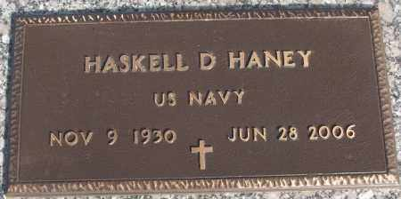HANEY (VETERAN), HASKELL D - White County, Arkansas | HASKELL D HANEY (VETERAN) - Arkansas Gravestone Photos