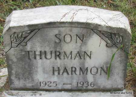 HARMON, THURMAN - White County, Arkansas | THURMAN HARMON - Arkansas Gravestone Photos
