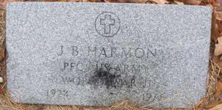 HARMON (VETERAN WWII), J B - White County, Arkansas   J B HARMON (VETERAN WWII) - Arkansas Gravestone Photos