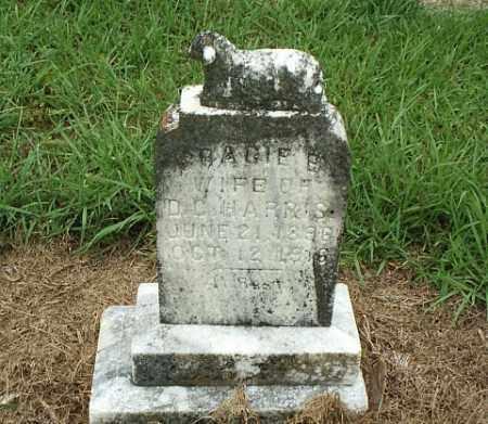 HARRIS, GRACIE B. - White County, Arkansas | GRACIE B. HARRIS - Arkansas Gravestone Photos