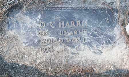 HARRIS (VETERAN WWII), O C - White County, Arkansas | O C HARRIS (VETERAN WWII) - Arkansas Gravestone Photos