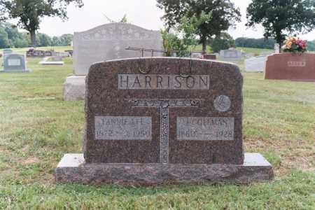 HARRISON, JOHN COLEMAN - White County, Arkansas | JOHN COLEMAN HARRISON - Arkansas Gravestone Photos