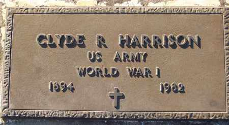 HARRISON (VETERAN WWI), CLYDE R - White County, Arkansas | CLYDE R HARRISON (VETERAN WWI) - Arkansas Gravestone Photos
