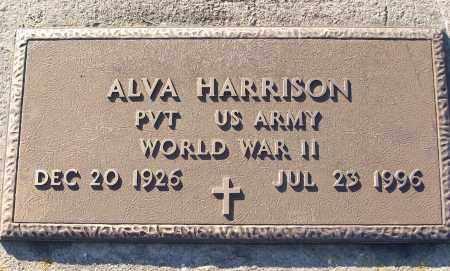 HARRISON (VETERAN WWII), ALVA - White County, Arkansas   ALVA HARRISON (VETERAN WWII) - Arkansas Gravestone Photos