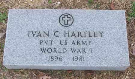 HARTLEY (VETERAN WWI), IVAN C - White County, Arkansas | IVAN C HARTLEY (VETERAN WWI) - Arkansas Gravestone Photos